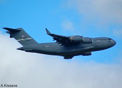 US AIR FORCE C17 06-6162 (Adrian.Kissane) Tags: usairforce aviation ireland takeoff departing flight flying sky outdoors jet plane aircraft aeroplane shannonairport c17 1162019 066162 shannon usaf