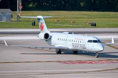 Air Georgian (Air Canada Express)  · Bombardier CRJ-200LR · C-GKGC (cn 7334, fn 117) · KCMH 8/3/2019 (Micheal Wass) Tags: bombardier crj200lr bombardiercrj200lr cgkgc kcmh ggn airgeorgian aircanadaexpress