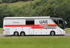 Tour de France 2019 - UAE Team Emirates (gimbellet) Tags: canon nikon auto automobiles autobus autocar autobuses autocares bus buses cars camion car coaches véhicules voiture motor transport transportation team race cycle cycling cyclist cyclisme