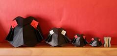 Owl nightwatch by Kay Kraschewski (Stefano Borroni (Stia)) Tags: origami origamipaper origamicdo origamilove origamiart piegarelacarta arte folding foldingpaper papiroflexia carta animali natura uccelli bird wwf owl gufo volatili fly cdoitalia