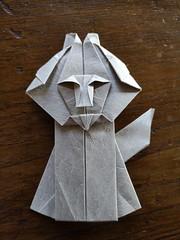 Leone By Ashimura Shunichi (Stefano Borroni (Stia)) Tags: origami origamipaper origamicdo origamilove origamiart piegarelacarta arte folding foldingpaper papiroflexia carta animali natura leon lion leone cdoitalia