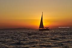 Sail on the sunset II (RoyBatty83) Tags: pentax pentaxk5 pentaxiani pentaxda1855wr da1855wr da pentaxda1855alwr tappo tappowr zadar zara croazia hr europeanview travelineurope pier porto molo mare croatia sunset boat sail