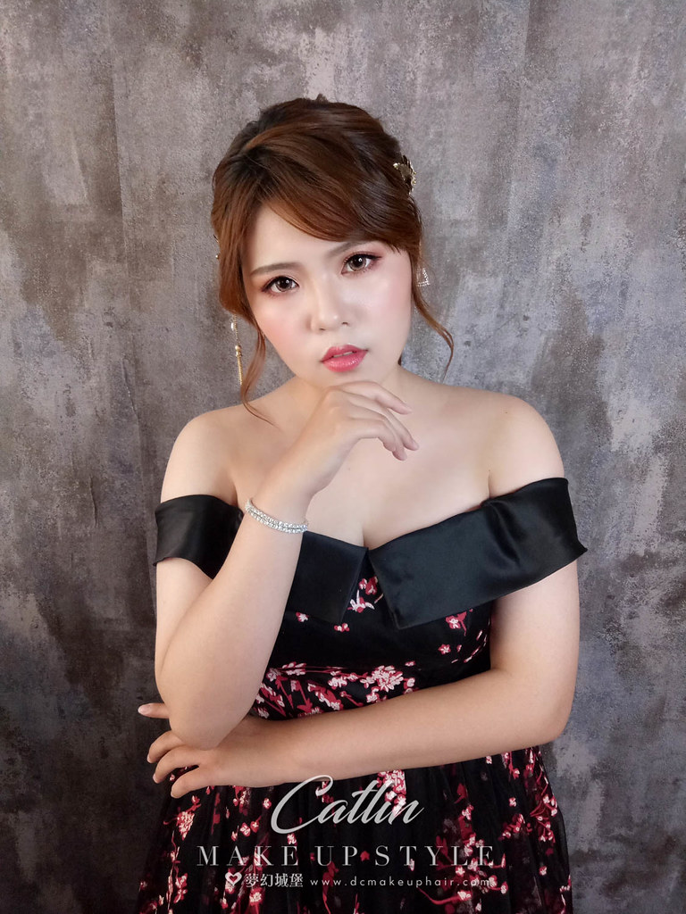 【新秘Catlin】新娘造型創作 / 韓風編髮造型