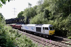 I'm a Celebrity - Get me outta here! (doughnut14) Tags: 60066 6e08 bya wolverhampton immingham steel rail freight diesel loco oldroad midland drax tug class60 cum beighton