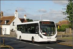 Regent Coaches MX13 BCO (Jason 87030) Tags: white bus 36 birchington kent thanet wheels qeqm shot shoot route story service august 2019 buses transport road roadside uk england wrightbus streetlite