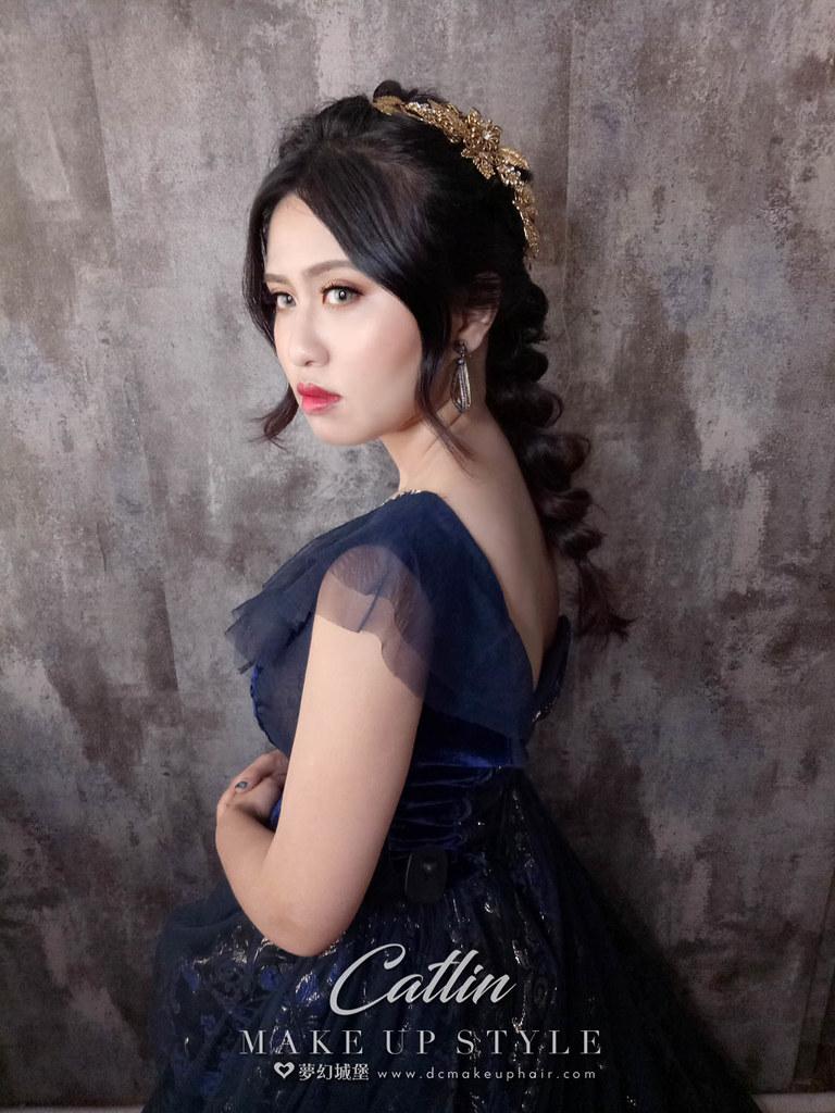 【新秘Catlin】新娘造型創作 / 唯美韓系造型