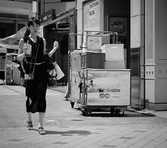 Delivery time (Bill Morgan) Tags: fujifilm fuji xpro2 35mm f14 bw alienskin exposurex45 jpeg acros