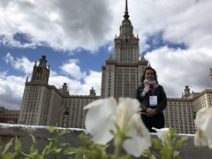"Pred Lomonosov Moscow State University • <a style=""font-size:0.8em;"" href=""http://www.flickr.com/photos/102235479@N03/48494267437/"" target=""_blank"">View on Flickr</a>"