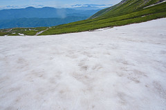 乗鞍大雪渓5・Mt.Norikura (anglo10) Tags: japan 長野県 松本市 雪 snow 山 mountain 乗鞍岳 御嶽山