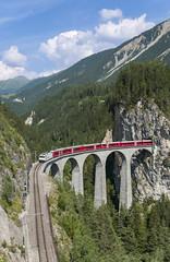 Rhb Ge 4/4 III 642 Landwasser Viaduct - Filisur 20/07/2019 (stefano.trionfini) Tags: train treni bahn zug rhb ge44iii landwasser viaduct filisur retiche grigioni svizzera suisse