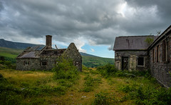 Quarry Hospital and Offices, Pen yr Orsedd Slate Quarry (Rogpow) Tags: wales nantlle yfron slatequarry penyrorseddquarry abandoned hospital industrial fuji decay ruin fujifilm disused snowdonia derelict quarry dilapidated northwales industrialarchaeology industrialhistory fujixpro2