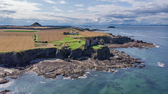 DJI-190808-009.jpg (Lauriethecurmudgeon) Tags: dji tantallon drone eastlothian scotland unitedkingdom castle aerial mavic air coastal
