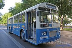 Pegaso 6035-4 (Mariano Alvaro) Tags: autobus bus emt madrid pegaso 6035 paseo prado clasicos primavera