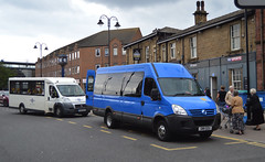 GN11 DZU: Rotherham Community Transport (chucklebuster) Tags: gn11dzu rotherham community transport irisbus iveco daily brecon coachworks