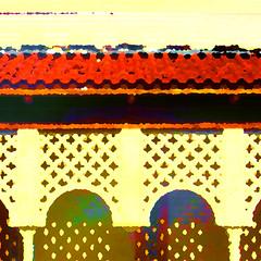IMG_2117b (howell.sasser) Tags: photoshop photodistortion photomanipulation digitalart architecture tampa ybor florida