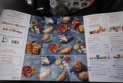 Not as much choice as you'd think (stevenbrandist) Tags: flight airport easyjet travelogue menu options food inflight marketing