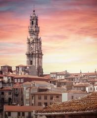 Oporto (Juan Figueirido) Tags: torre spire tower torredosclerigos oporto porto portugal