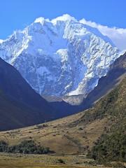 Nevado Salkantay - 6264 mts. (Mono Andes) Tags: andes perú salkantay cusco mountain trekking glaciar glacier
