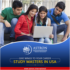 Give Wings to Your Career – Study Masters in USA (webmaster.astroninternational) Tags: