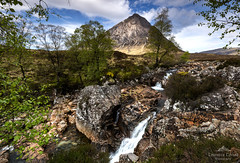 When familiarity breeds content. (lawrencecornell25) Tags: landscape scenery scotland scottishhighlands highlands mountain waterfall rocks nature buachailleetivemor stobdearg nikond850 outdoors travel glenetive glencoe trees