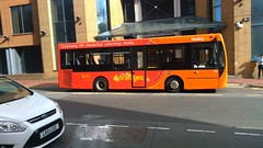 Orange bus of Reading (snaprails) Tags: berkshire bus reading