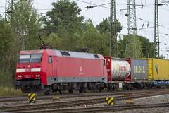 152 046-9 (Disktoaster) Tags: eisenbahn zug railway train db deutschebahn locomotive güterzug bahn pentaxk1