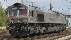 266 061-1 DE 61 RheinCargo (2) (Disktoaster) Tags: eisenbahn zug railway train db deutschebahn locomotive güterzug bahn pentaxk1