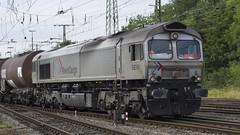 266 061-1 DE 61 RheinCargo (Disktoaster) Tags: eisenbahn zug railway train db deutschebahn locomotive güterzug bahn pentaxk1