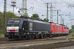 189 803-0 und 185 166-6 und 151 082-5 (Disktoaster) Tags: eisenbahn zug railway train db deutschebahn locomotive güterzug bahn pentaxk1