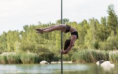 (dimitryroulland) Tags: nikon d750 85mm 18 dimitryroulland pole dance poledance poledancer dancer paris france lake nature natural light flexible people flexibility back performer art artist fitness
