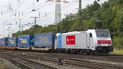 186 187-1 Crossrail (Disktoaster) Tags: eisenbahn zug railway train db deutschebahn locomotive güterzug bahn pentaxk1
