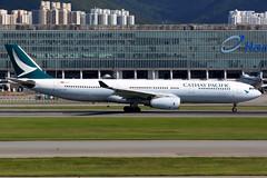 Cathay Pacific | Airbus A330-300 | B-LAO | Hong Kong International (Dennis HKG) Tags: aircraft airplane airport plane planespotting oneworld canon 7d 100400 cathay cathaypacific cpa cx hongkong cheklapkok vhhh hkg airbus a330 a330300 airbusa330 airbusa330300 blao