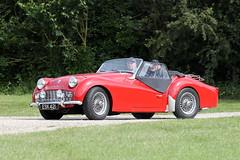 Triumph TR3 (1959) (Roger Wasley) Tags: 1959 triumph tr3 esk421 toddington classic car vehicle