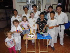 DSC02881 (bigboy2535) Tags: wado karate federation hua hin wkf 7 years old thailand sensei john oliver party