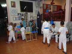 DSC02879 (bigboy2535) Tags: wado karate federation hua hin wkf 7 years old thailand sensei john oliver party