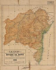 Mapa da Bahia (1936) (Arquivo Nacional do Brasil) Tags: bahia históriadabahia mapaantigo mapasantigos map mapa historyofbrazil arquivonacional arquivonacionaldobrasil arquivo nordeste regiãonordeste história mémoria cartografia cartography