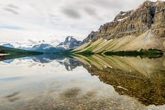 Chill day (pn.praveen) Tags: banffnationalpark canadianrockies alberta canada bowlake reflection symmetry landscape longexposure crowfootmountain