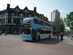 4882, Coventry, 22/04/19 (aecregent) Tags: coventry 220419 nationalexpresscoventry enviro400 4882 bx13jvn 6a
