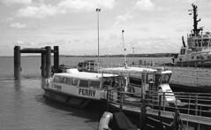 Tilbury ferry (DH73.) Tags: tilbury ferry gravesend thames jetstream tours thamesswift trimaran boat minolta dynax 600si classic 3570mm f4 zoom ilford delta 400 id11