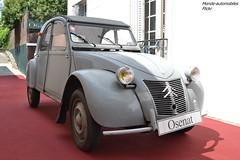 Citroën 2cv PO 1958 (Monde-Auto Passion Photos) Tags: voiture vehicule auto automobile citroën 2cv deuche deudeuche grey gris ancienne classique collection vente enchère osenat france fontainebleau