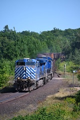 LS&I 3 Hill (CN Southwell) Tags: lsi lake superior ishpeming rr railroad cefx ac4400