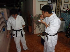 DSC02890 (bigboy2535) Tags: wado karate federation hua hin wkf 7 years old thailand sensei john oliver party