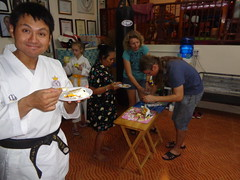 DSC02889 (bigboy2535) Tags: wado karate federation hua hin wkf 7 years old thailand sensei john oliver party