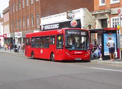AL ENL92 - GN58BUU - ELTHAM HIGH STREET - SAT 3RD AUG 2019 (Bexleybus) Tags: arriva london eltham se9 south east high street shopping centre adl dennis enviro 200 tfl route b15 enl92 gn58buu