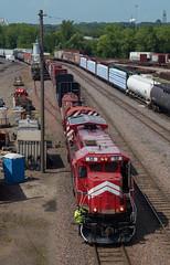 MNNR 58- Midway (Khang Lu) Tags: mnnr minnesota commercial railroad mn st paul midway yard ge b398e 58 train locomotive