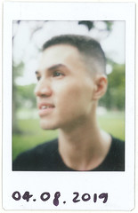My very first portrait with Tl 70 (Duong RKUDO) Tags: saigon instax vietnam portrait film mintcamera fujifilm instant