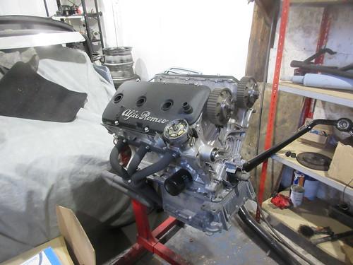 GTV6 2.5 engine