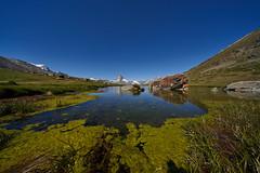 Stellisee (ivoräber) Tags: stellisee zermatt sony switzerland schweiz systemkamera swiss suisse voigtlander 10mm matterhorn