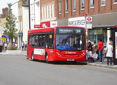 SLN 36554 - LX12DKJ - ELTHAM HIGH STREET - SAT 3RD AUG 2019 (Bexleybus) Tags: stagecoach london selkent eltham se9 south east high street shopping centre adl dennis enviro 200 tfl route 314 36554 lx12dkj