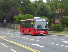 SLN 37503 - SN67WYP - DANSON ROAD WELLING - SUN 4TH AUG 2019 (Bexleybus) Tags: stagecoach london selkent danson road park welling kent adl dennis enviro 200 mmc tfl route b14 37503 sn67wyp